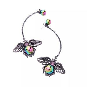 Betsey Johnson Jewelry - Betsey Johnson Fly Dangles